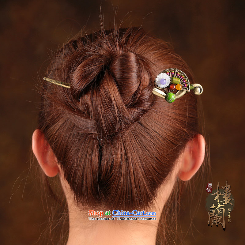 The Kanzashi ethnic women ancient classical style disc from the game by Ornate Kanzashi sub-head ornaments shell jewelry products Flowers