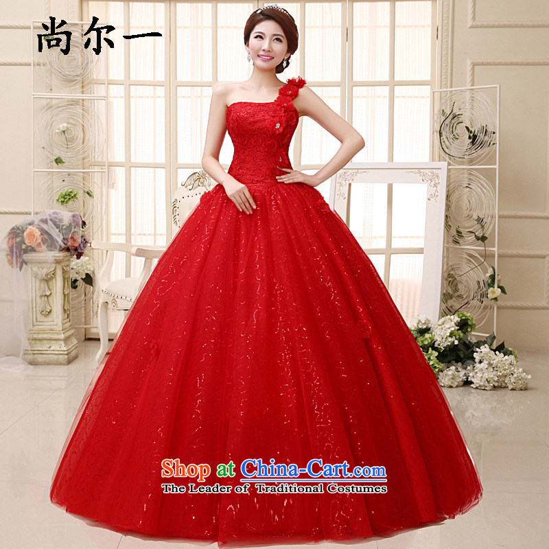 Yet, a wedding dress bride Pregnant Women New Top Loin of autumn and winter Korean shoulder straps to align graphics thin xs8901 wedding package?S