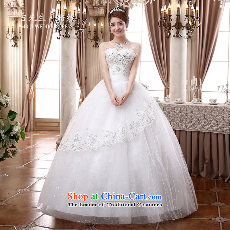 Mr. Guiss��?2015 new hot Top Loin of Korean lace anointed chest to graphics thin wedding?JHD57?white customization