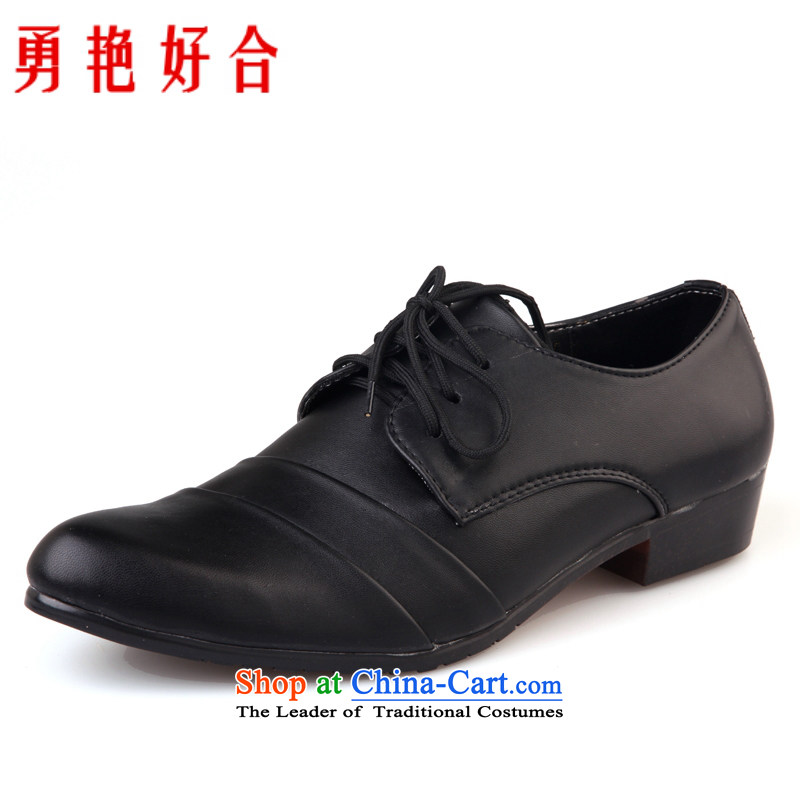Yong-yeon and Fashion Shoes, MEN arena shoes shoes marriage boutique men's shoes 313 Black 39