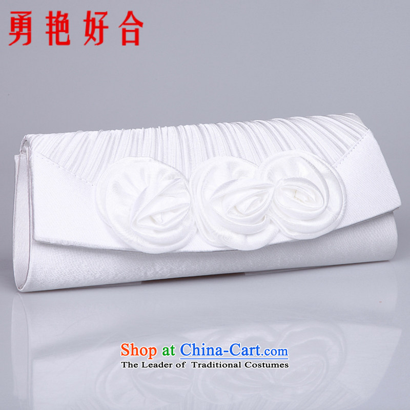 Yong-yeon and luxury damask roses marriages wedding dresses bag\bridesmaid packages\Dinner Package White