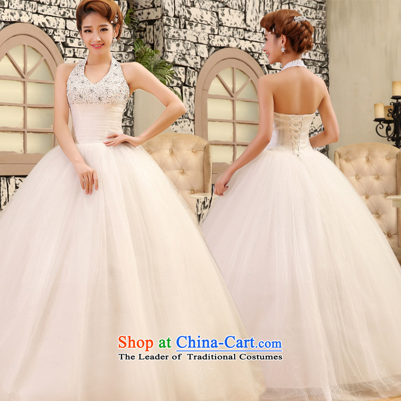 Mr. Guiss��?2015 new stylish sexy kit also luxury princess pearl ornaments back waist video thin and high in wedding White?XXL
