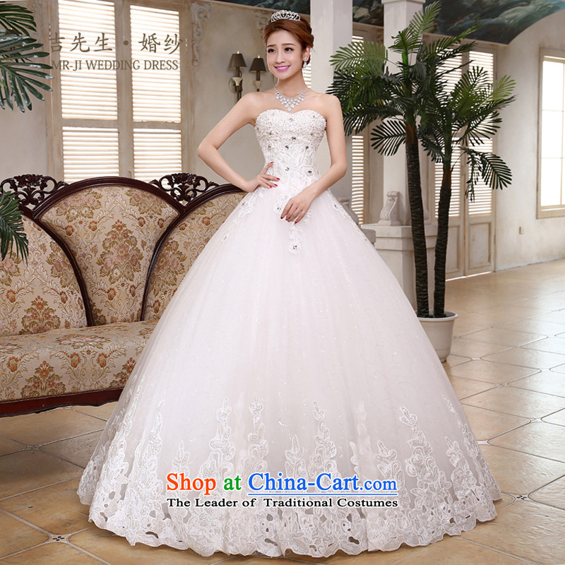?The new 2015, Mr. Korean luxury lace diamond jewelry sweet Princess Mary Magdalene chest and wedding white customization