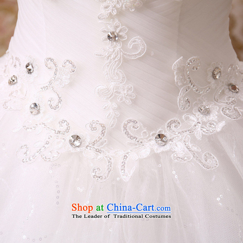 Mr. Guissé 2015 new elegant & luxurious hand-set in the Pearl River Delta Super waist decorated Wedding white XXL, Sau San Gil (MRJI) , , , shopping on the Internet