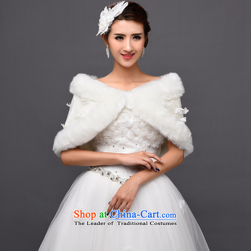 Tim hates makeup and bride wedding dress shawl winter bride shawl lace shawl rabbit hair shawl thick shawl warm shawl wedding dress winter PJ006 white are code