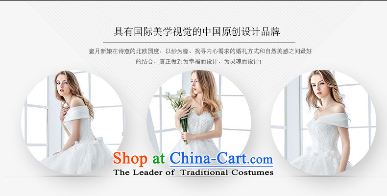 Wedding dress 2015 winter new bride white Korean Won Version Sau San video thin lace long tail large white tail 1.5 m and tail聽M pictures, prices, brand platters! The elections are supplied in the national character of distribution, so action, buy now enjoy more preferential! As soon as possible.