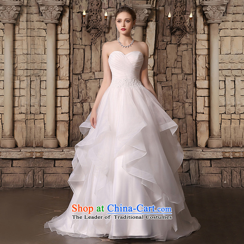 Custom Wedding 2015 dressilyme autumn and winter and the new rules are not yet chest skirt bon bon simple zipper, bridal wedding dress ivory - no spot?XXL