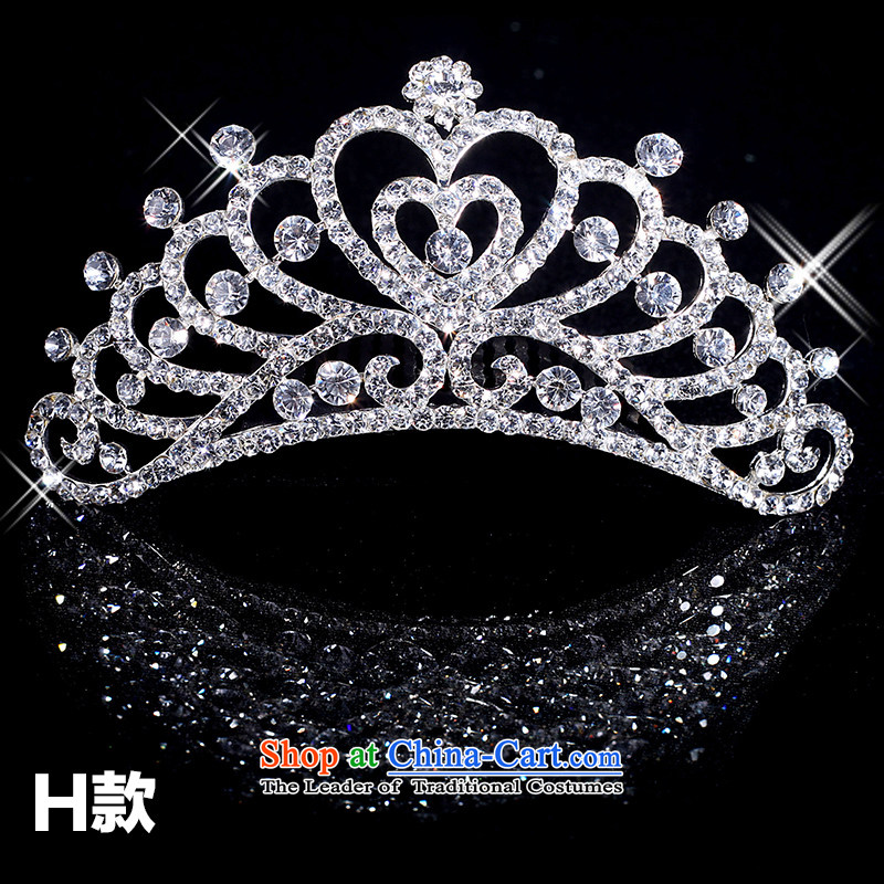 Tim hates makeup and wedding accessories crystal crown alloy crown classic wedding mix of Bride Head Ornaments bride TS006 crown value recommended?H are code