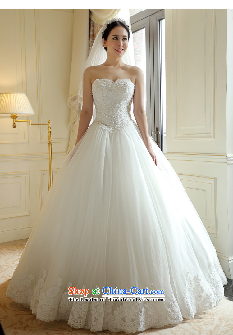 Kyrgyz-US married arts wedding dresses Summer 2015 new Korean anointed chest lace video thin bon bon skirt 7796 bride wedding1.5 m tail15 day shippingXS picture, prices, brand platters! The elections are supplied in the national character of distribution, so action, buy now enjoy more preferential! As soon as possible.