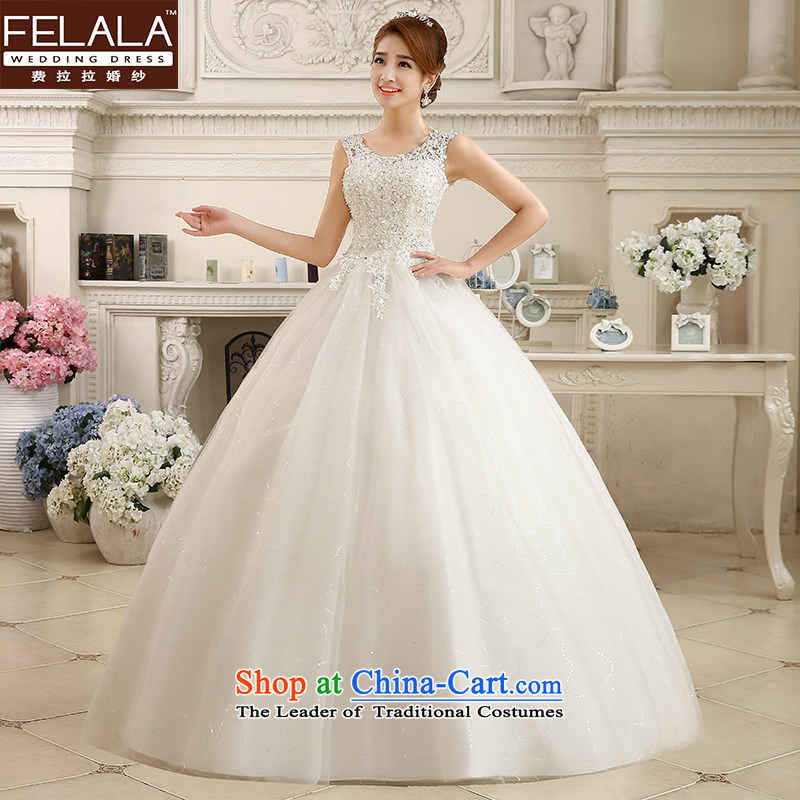 Ferrara?2015 new winter wedding retro lace Sau San to bind the video thin alignment with wedding dresses?L(2 feet 1)
