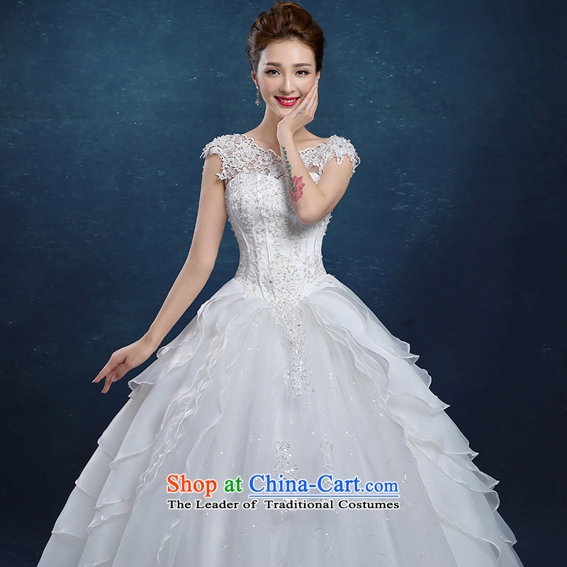 Tim hates makeup and 2015 New wedding dress winter marriages bows services wedding dresses wedding larger lace wedding billowy flounces, cuff HS013 wedding package shoulder S