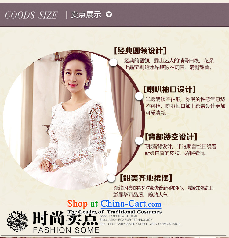 To align the new 2015 round-neck collar lace flowers horn cuff wedding white M(2 feet) Picture, prices, brand platters! The elections are supplied in the national character of distribution, so action, buy now enjoy more preferential! As soon as possible.