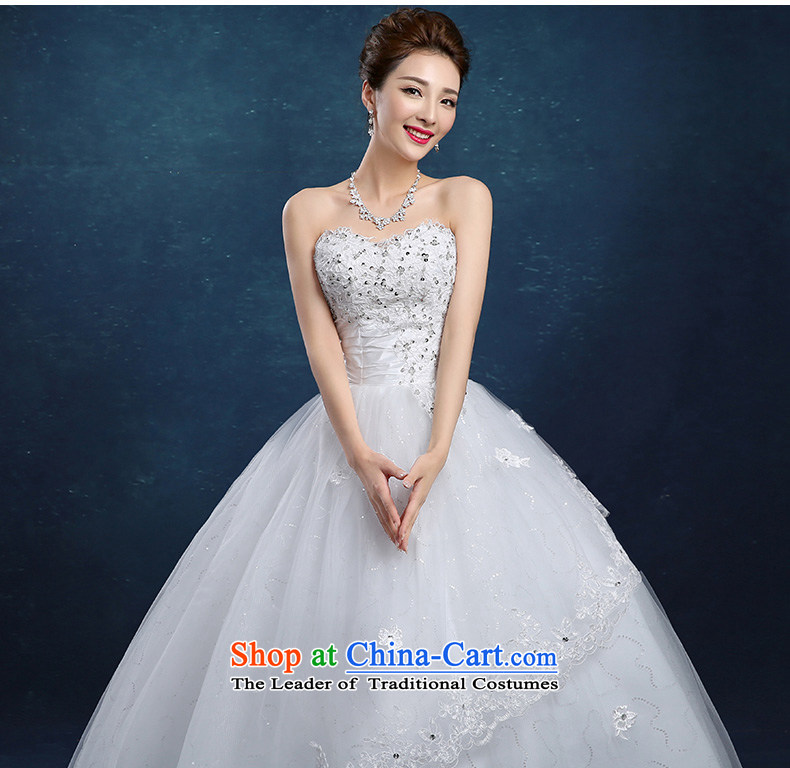 Tim hates makeup and new wedding dresses bows services tail wedding lace wedding dresses large wedding tail winter bride wedding wedding dresses, chest and align to XL Photo HS015, prices, brand platters! The elections are supplied in the national character of distribution, so action, buy now enjoy more preferential! As soon as possible.