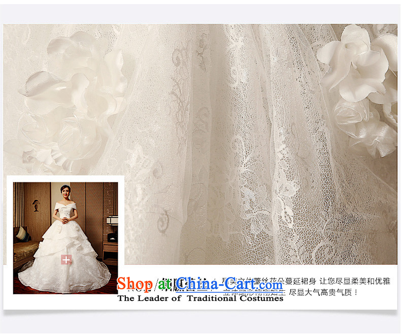 The word tslyzm shoulder wedding dress large tail bride Wedding 2015 new autumn and winter marriage continental palace retro luxurious WhiteXXL picture, prices, brand platters! The elections are supplied in the national character of distribution, so action, buy now enjoy more preferential! As soon as possible.