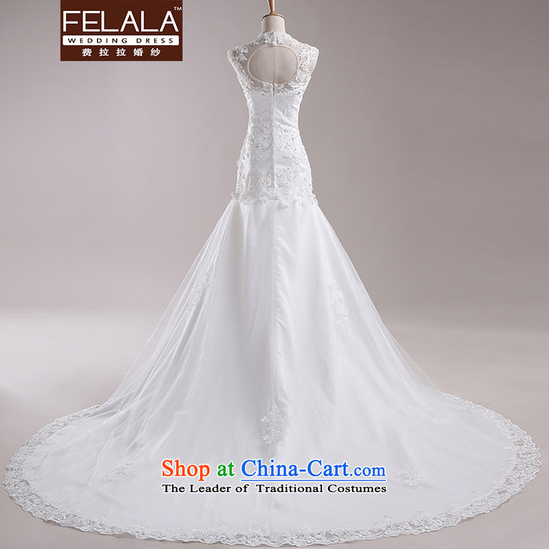 Ferrara 2015 winter wedding dresses large graphics thin female wedding dress marriages crowsfoot wedding tail , L Ferrara wedding (FELALA) , , , shopping on the Internet