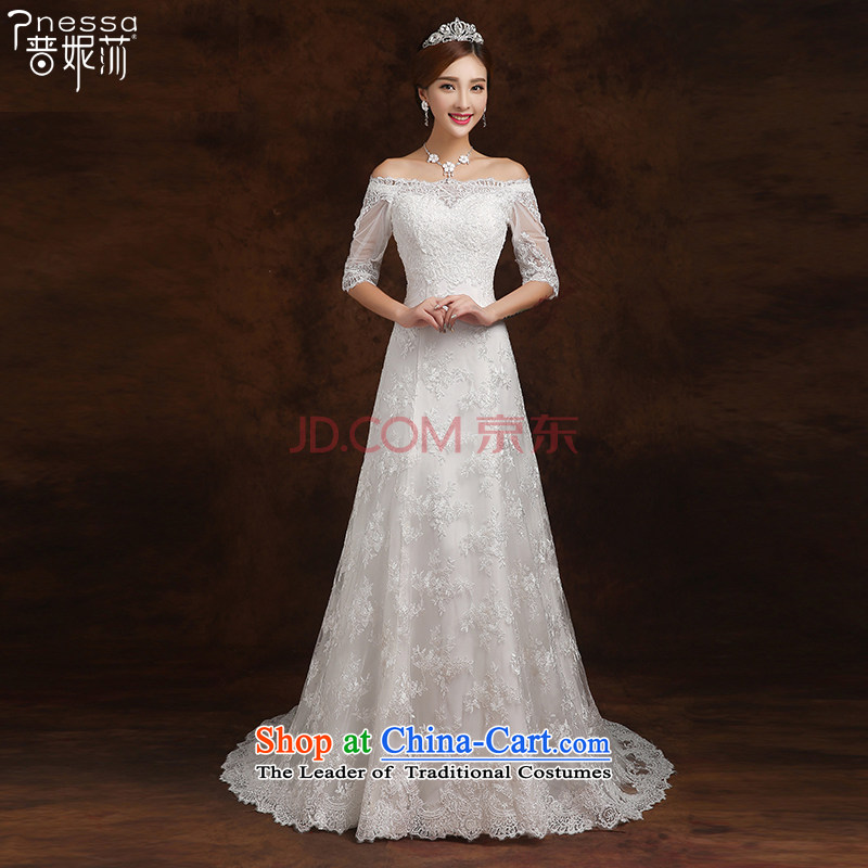 The Republika Srpska divas 2015 winter new word in Small cuff shoulder tail wedding video thin white?L )