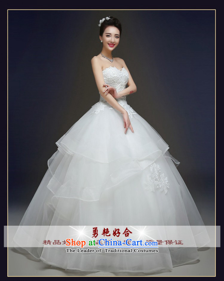 Yong-yeon and autumn and winter wedding dresses new stylish marriages and 2015 chest lace straps to Sau San WhiteM align image, prices, brand platters! The elections are supplied in the national character of distribution, so action, buy now enjoy more preferential! As soon as possible.