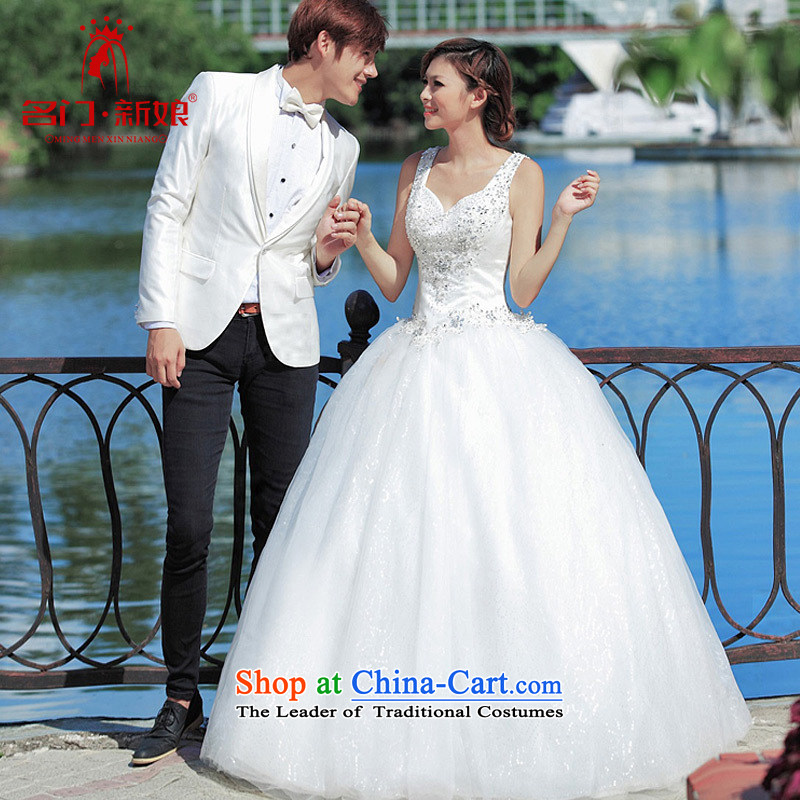 Name the new bride door wedding dresses and chest princess wedding to align the Korean Bridal Suite?945 L