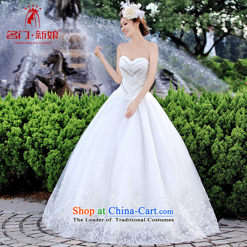 A bride wedding dresses Korean Princess wedding to align the minimalist wedding new 903 M