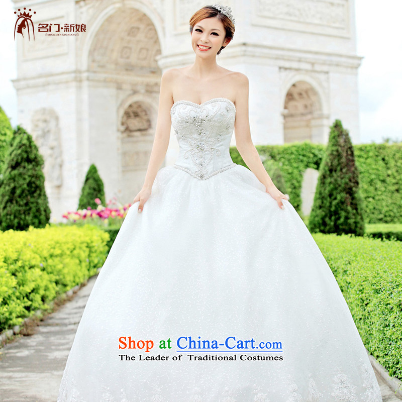 A bride wedding dresses Korean Princess wedding alignment with chest wedding 901 M