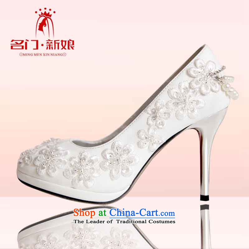 A Bride Korean high-heel shoes 2015 new marriage was married women shoes shoes bride shoes 089 37