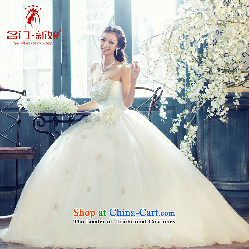Name the new bride door Korean court minimalist luxury bon bon anointed chest princess wedding 810 Standard M