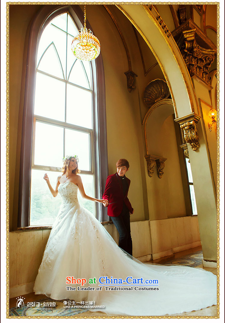 A bride wedding dresses Korean sweet princess wedding new deluxe long tail wedding 913 S picture, prices, brand platters! The elections are supplied in the national character of distribution, so action, buy now enjoy more preferential! As soon as possible.