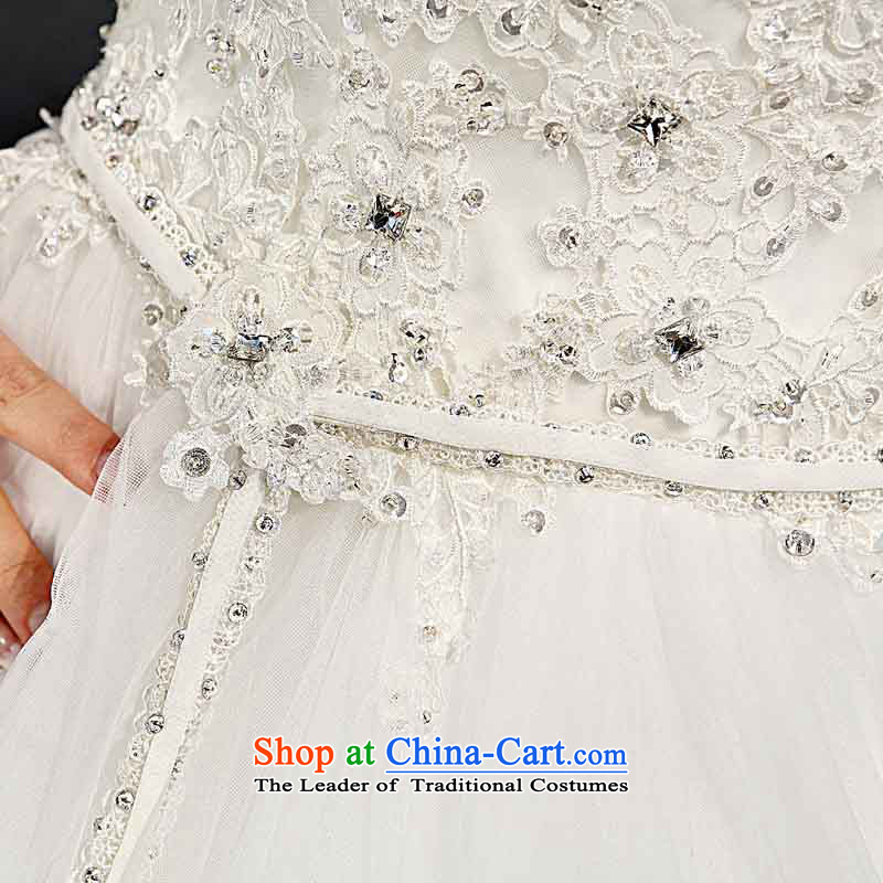 A bride wedding dresses bon bon princess wedding elegant lace wedding to align the wedding 954 S, a bride shopping on the Internet has been pressed.