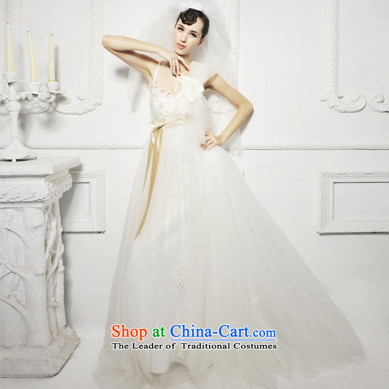 Full Chamber /MTF Fong Korean sweet dream wedding dresses 2015 NEW S1266 alignment of land 173-L
