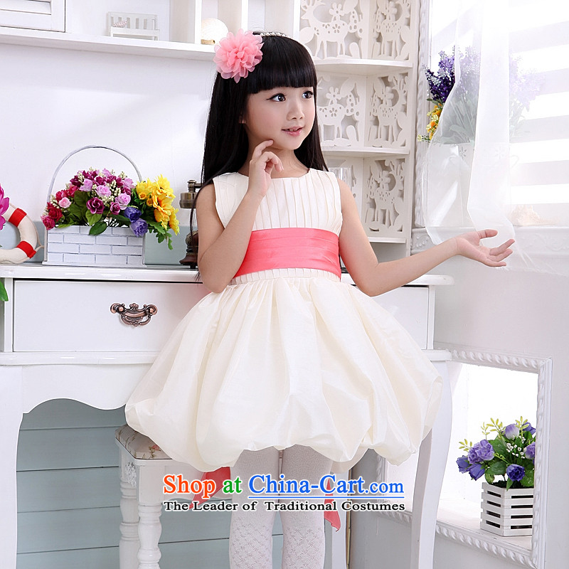 Children's wear dresses guijin Keun-shared child will dance to bon bon botanists petticoats t06 m White watermelon red lap?10 scheduled 3 days from Suzhou Shipment