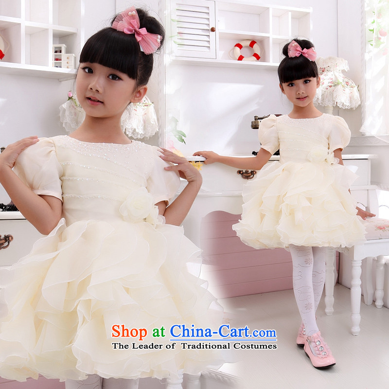 Shared Keun guijin candy princess children's wear dresses children will dance to?t13?champagne color?8 from Suzhou Shipment