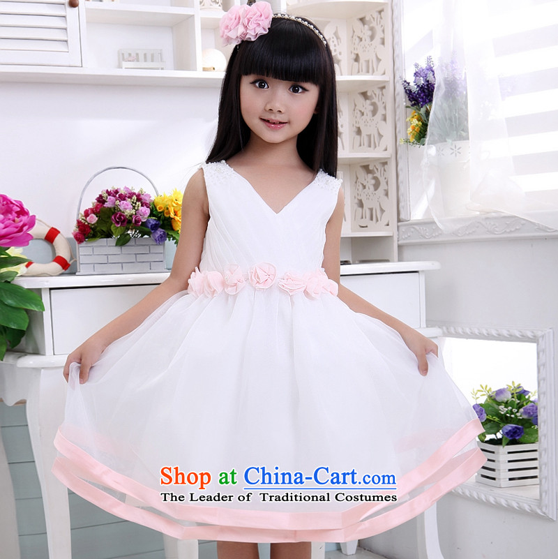 Shared Keun guijin children will V-Neck Little Princess dresses Flower Girls services services will dance t03 8 from Suzhou Shipment