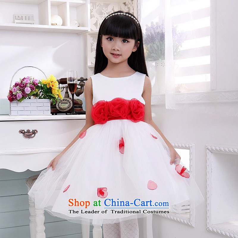 Shared Keun guijin children performances will show services Flower Girls skirt little princess dress t04 6 yards from Suzhou Shipment