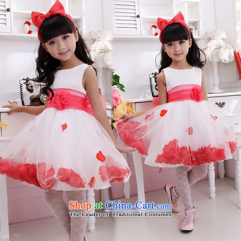 Shared-keun guijin girls children's wear dresses sleeveless dress dress Flower Girls Wedding Dress Princess Flower Girls dress children will dance to t1 10 scheduled 3 days from Suzhou Shipment