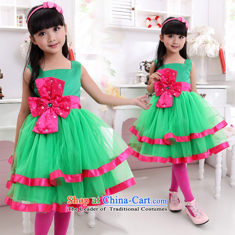 Shared-keun guijin children children's wear dresses Flower Girls dress dress wedding dress princess children will dance to?8 code from Suzhou t21 shipment