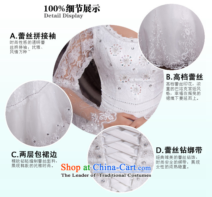 Shared Keun guijin 2013 new Korean horn cuff lace straps to align the wedding h382 m White XL code from Suzhou shipment picture, prices, brand platters! The elections are supplied in the national character of distribution, so action, buy now enjoy more preferential! As soon as possible.