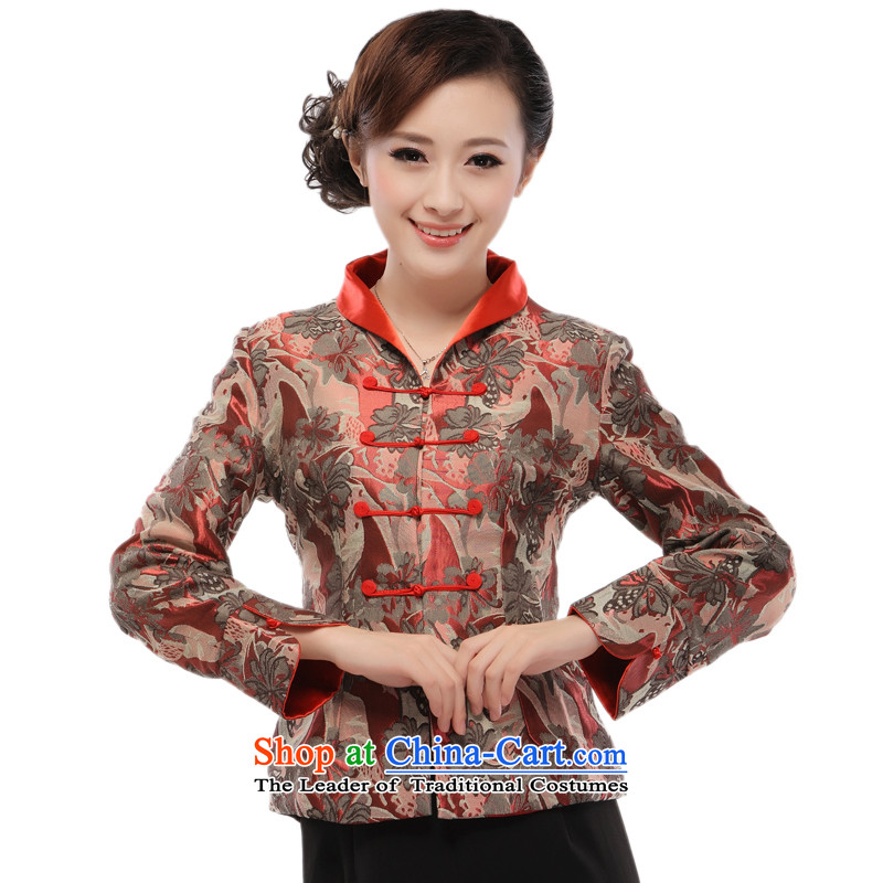 The former Yugoslavia (2014- aware new li of the elderly in the Tang dynasty, Ms. clothing mother coat jacket QR52 figure M