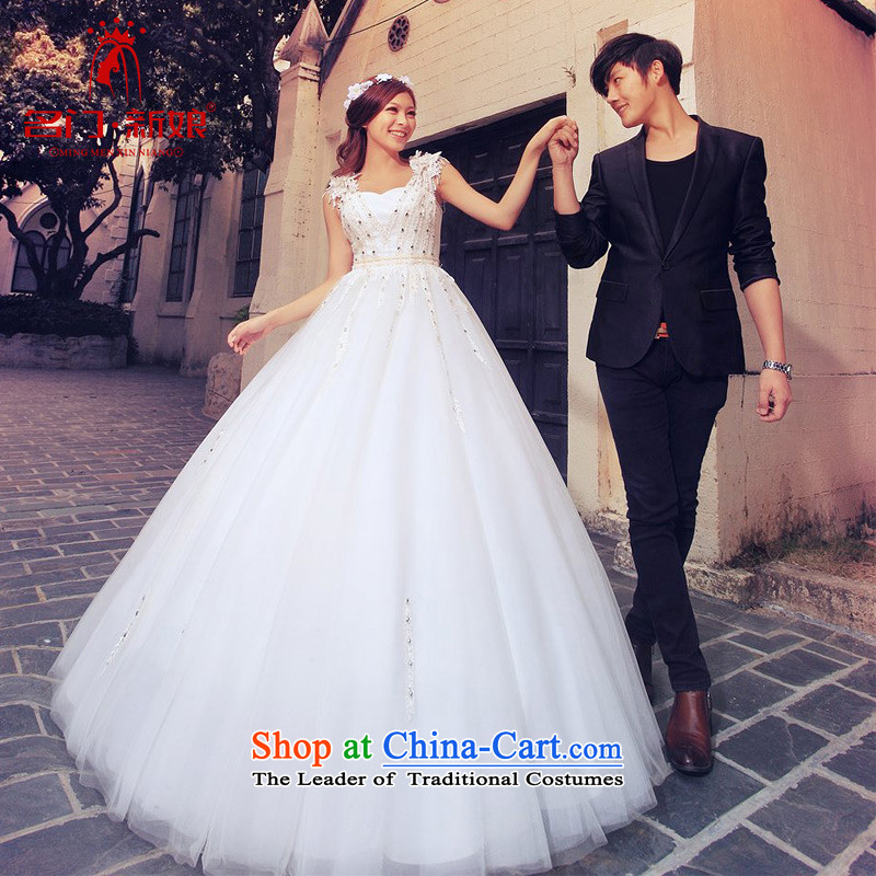 A bride wedding dresses and noble shoulders wedding bon bon Princess Wedding?2015 new?A981 M