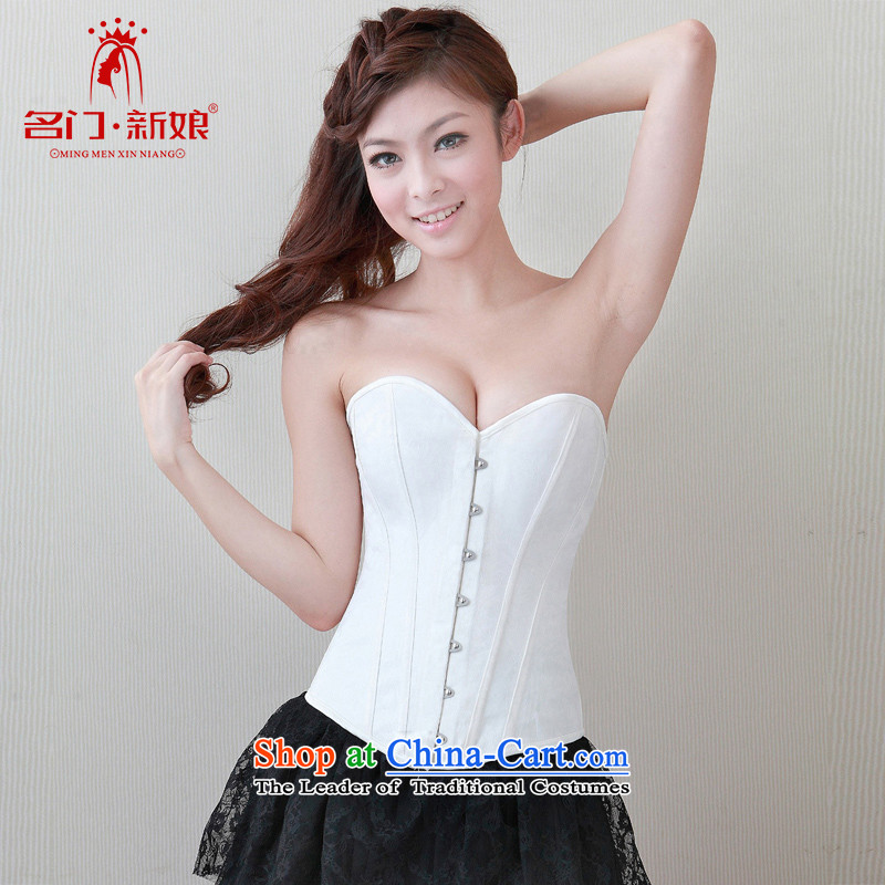 A bride wedding underwear and chest harness the particles of plastic body Underwear bra your abdomen plastic lingerie waist 002 M