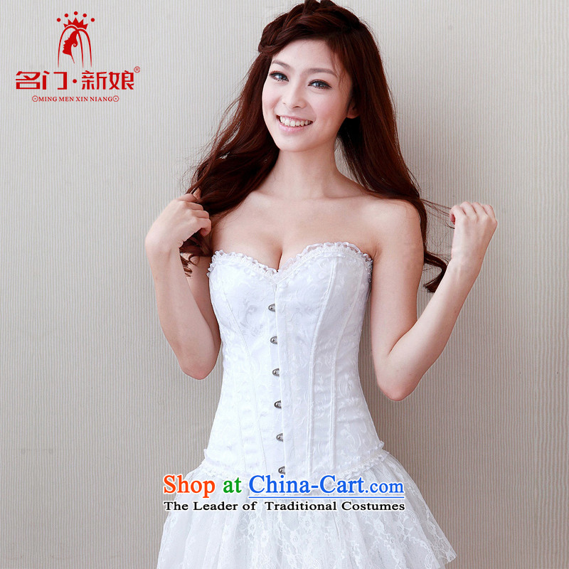 A bride wedding underwear and chest harness the particles of underwear slimming body body fitness Yi,?003 S Lace