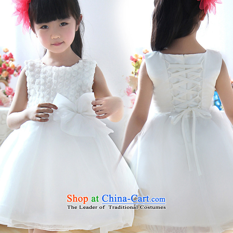 Shared Keun guijin Chun-mei lovely Flower Princesses skirt flowers lint-free children's wear girls dress uniform dress?t29 show 4 yards from Suzhou Shipment
