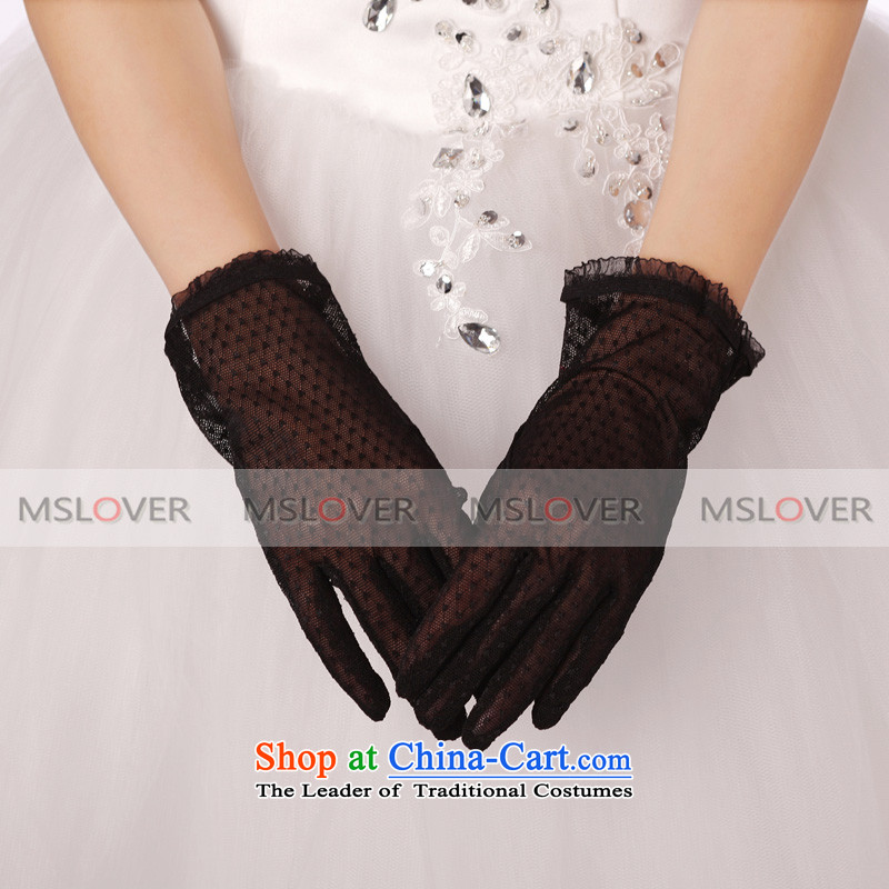 �Mesh panel 5 mslover lei refers to short of the dinner show marriages gloves�ST1229�black
