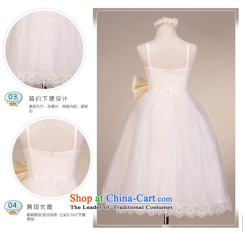 The lifting strap is luxury mslover bon bon skirt girls princess skirt children dance performances to dress wedding dress Flower Girls dress  code 9032 m 6 white picture, prices, brand platters! The elections are supplied in the national character of distribution, so action, buy now enjoy more preferential! As soon as possible.