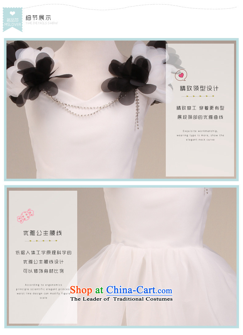 Mslover sleeveless flowers bon bon skirt girls princess skirt children dance service wedding dress Flower Girls dress FD130610 rice white 6 pictures, prices, brand platters! The elections are supplied in the national character of distribution, so action, buy now enjoy more preferential! As soon as possible.