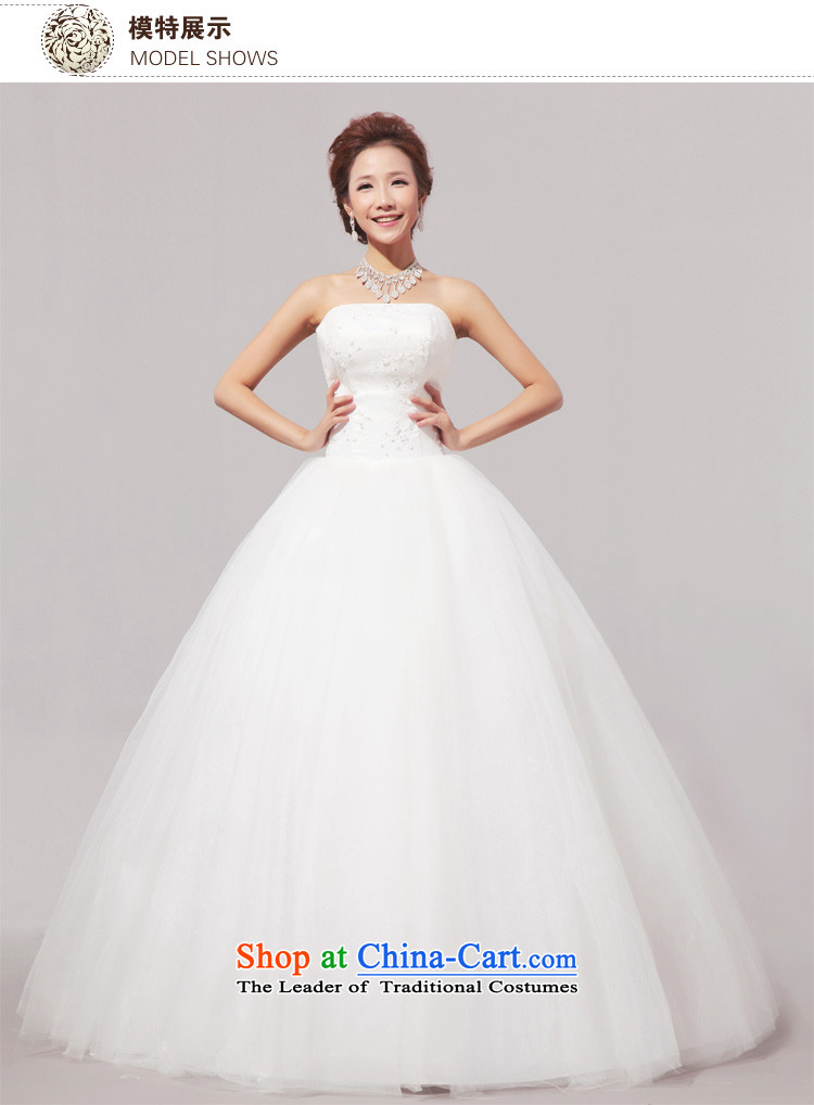 Doi m qi 2014 New New anointed chest bon bon skirt to bind with the bride align lace white聽L wedding pictures, prices, brand platters! The elections are supplied in the national character of distribution, so action, buy now enjoy more preferential! As soon as possible.