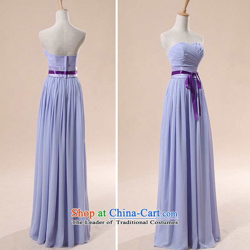 Doi m qi bridesmaid dress bridesmaid service, with small dress stars Li Siu Ro special upgrade version of the same length?M
