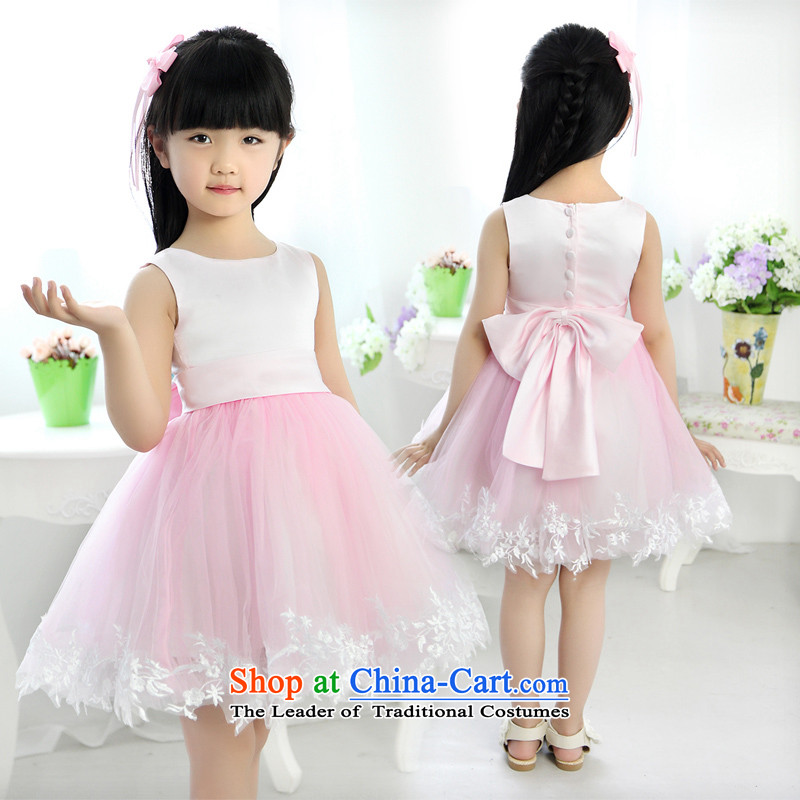 Shared Keun guijin children evening dresses princess skirt Princess Korean skirt bon bon skirt female princess skirt girls show services take children's wear?pink t43?8 from Suzhou Shipment