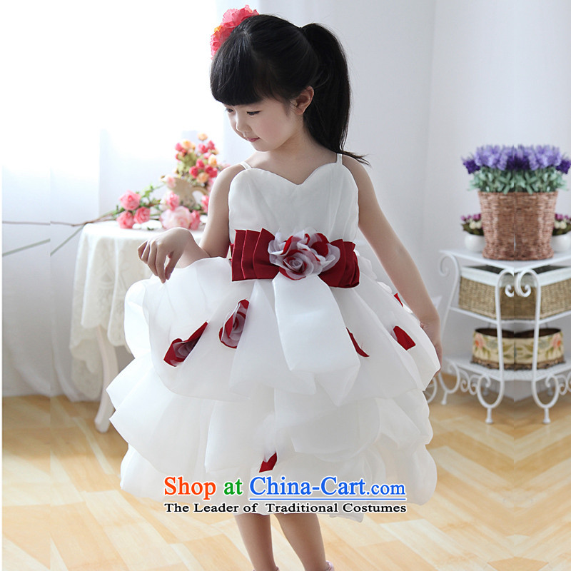 The lifting strap guijin Keun-shared flower children's wear skirts bubble short skirt as Princess skirt girls dress code 6 wheels (Type-41) service performances from Suzhou Shipment