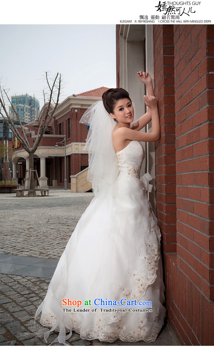Doi m qi wedding dresses to align the new 2014 wedding anointed chest Korean Princess graphics thin OSCE root yarn upscale wedding white S strap image, prices, brand platters! The elections are supplied in the national character of distribution, so action, buy now enjoy more preferential! As soon as possible.