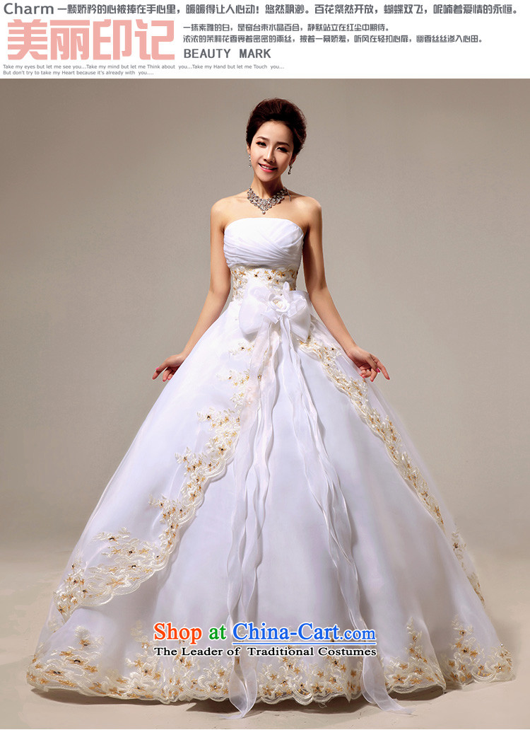 Doi m qi wedding dresses to align the new 2014 wedding anointed chest Korean Princess graphics thin OSCE root yarn upscale wedding whiteS strap image, prices, brand platters! The elections are supplied in the national character of distribution, so action, buy now enjoy more preferential! As soon as possible.